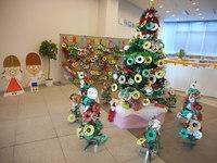 カラフル★リースで彩るみんなの大きなクリスマスツリー